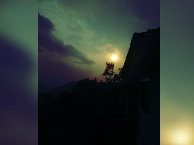 wayanad sunset