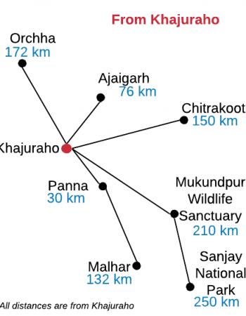 madhya pradesh itinerary khajuraho