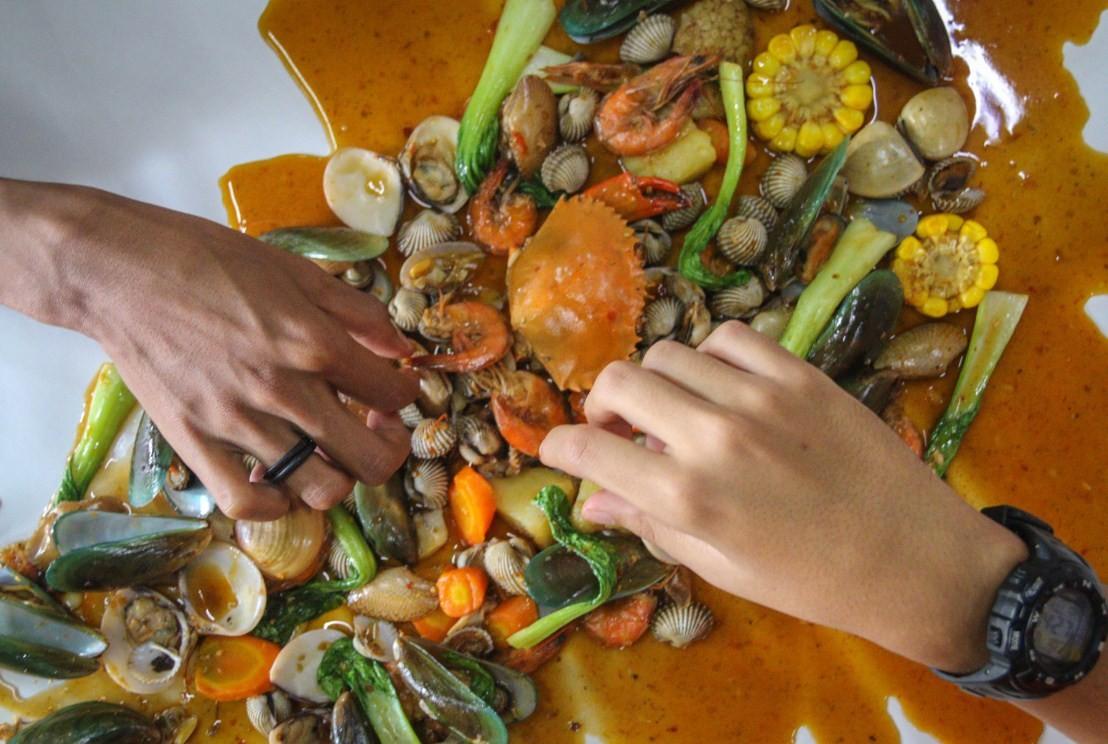 tempat makan seafood di bandung