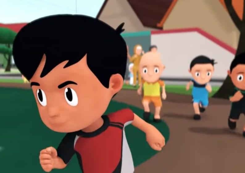 Apa yang dilakukan Chandra dan teman-teman dalam membantu Wayan untuk mengikuti lomba