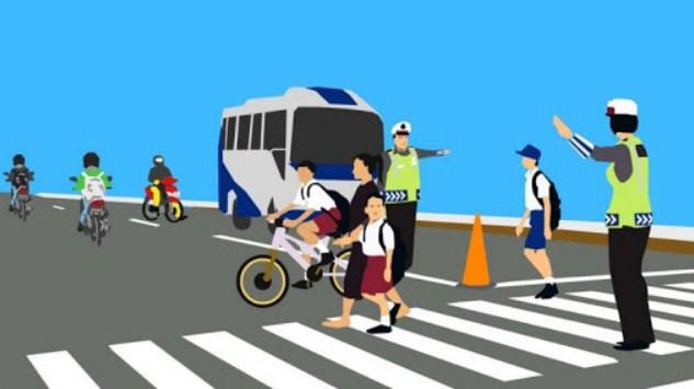Untuk menjaga keselamatan, apa saja yg boleh dan tidak boleh dilakukan ketika kita sedang mengendarai kendaraan darat? Jelaskan pendapatmu!