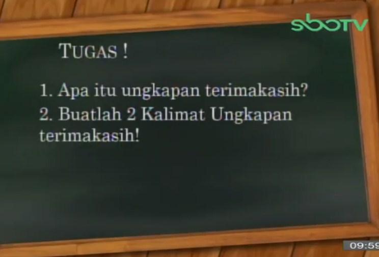 Soal dan Jawaban SBO TV 17 September SD Kelas 1