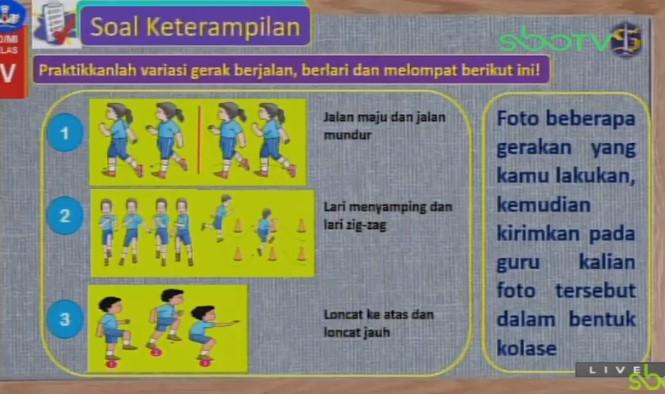 Soal dan Jawaban SBO TV 1 September SD Kelas 4