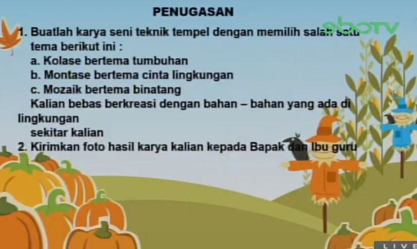 Soal dan Jawaban SBO TV 4 September SD Kelas 4
