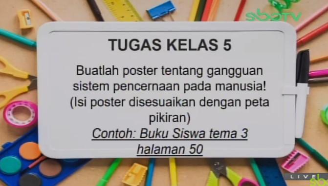 Soal dan Jawaban SBO TV 1 September SD Kelas 5