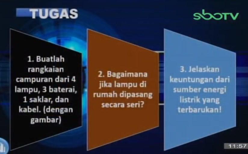 Soal dan Jawaban SBO TV 28 September SD Kelas 6