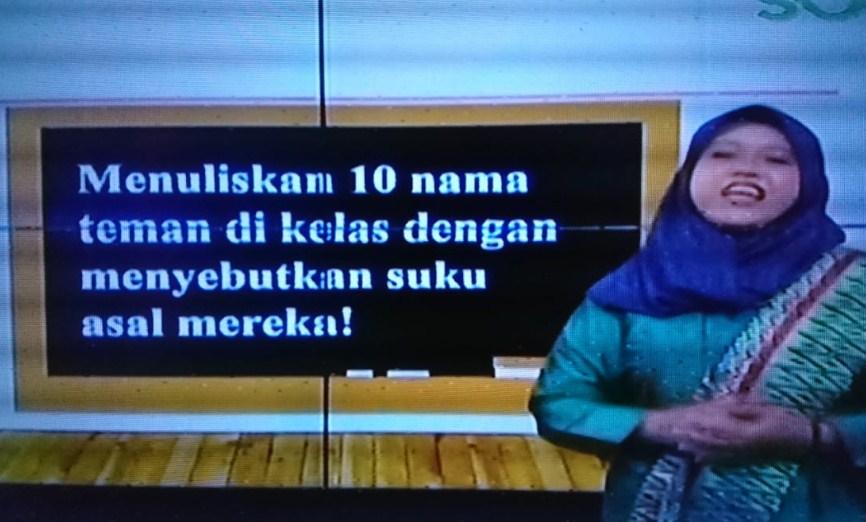 Soal dan Jawaban SBO TV 1 Oktober SD Kelas 2