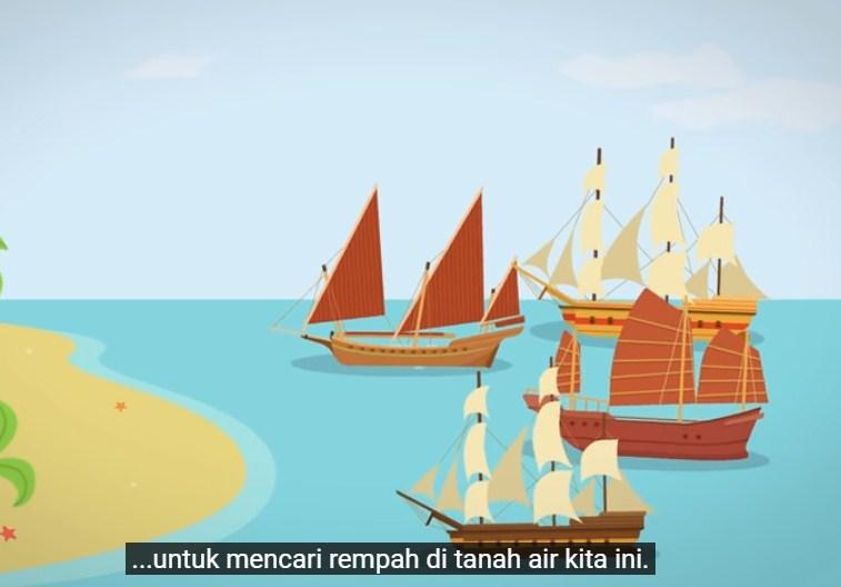 Dari video yang berjudul Mengapa Masakan Indonesia Enak-enak?