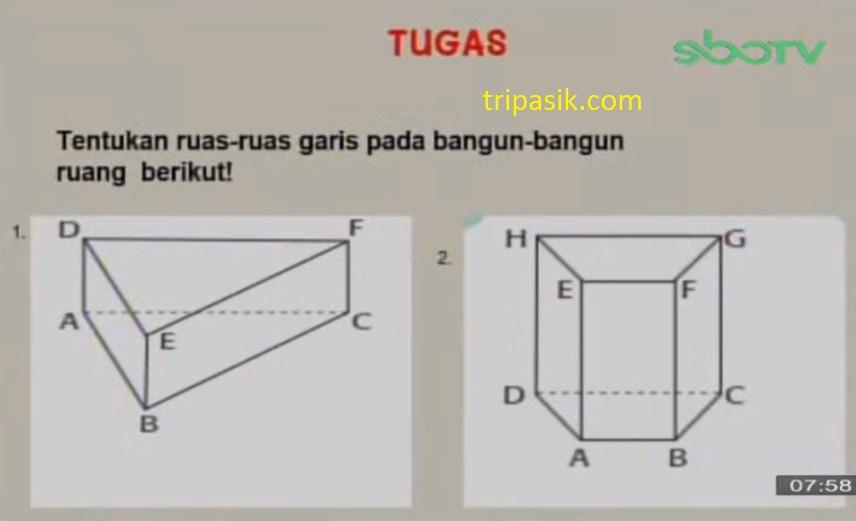 Soal dan Jawaban SBO TV 20 November 2020