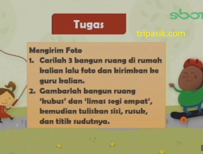 Soal dan Jawaban SBO TV 27 November 2020