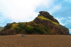 Lion Rock, Plage de Piha