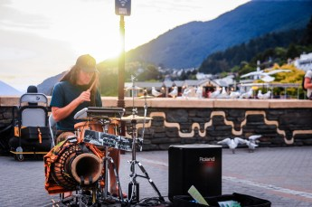 Concert sur le port de Queenstown