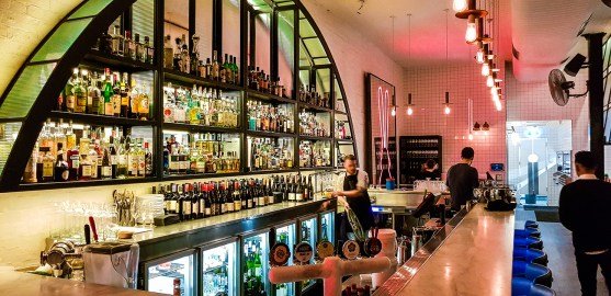 Le bar, Chin Chin, Melbourne