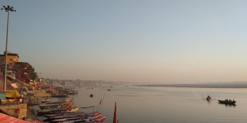 Morning Ganga Aarti, Boat Ride & Full-Day Temple Tour