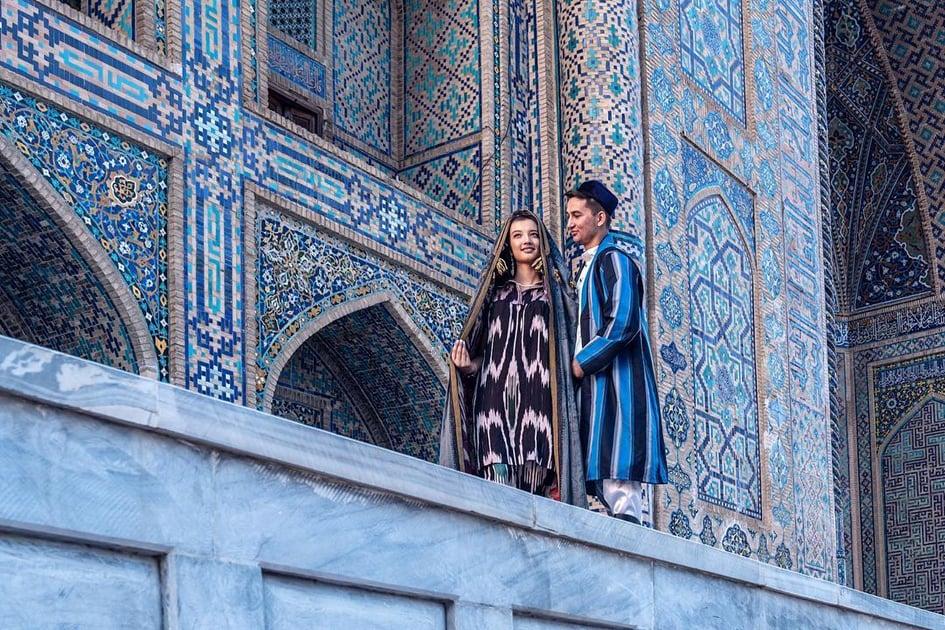 Keindahan seni bina Samarkand