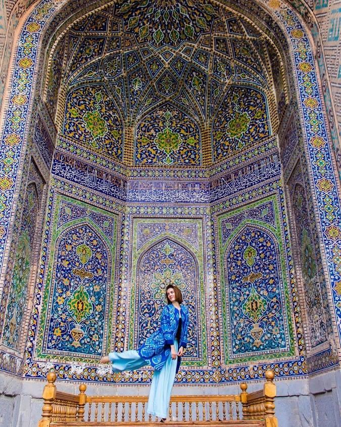 Keindahan seni bina Uzbekistan