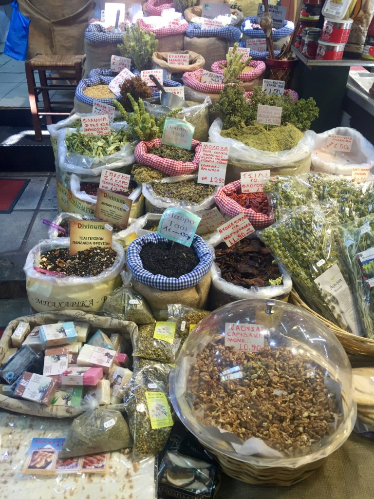 spices market Thessaloniki