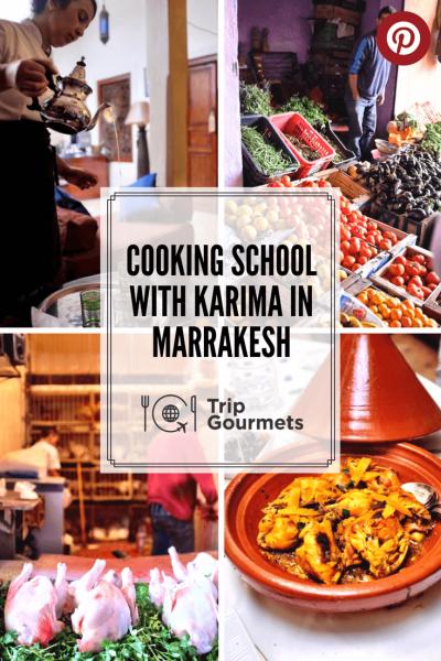 cooking school marrakech urban adventures trip gourmets pinterest