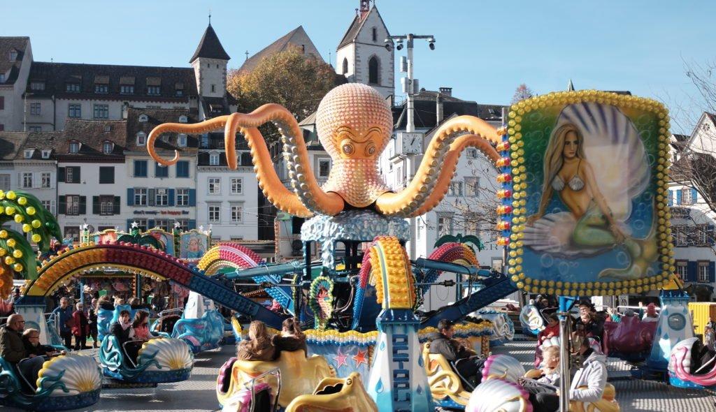 Basler Herbstmesse Barfüsserplatz