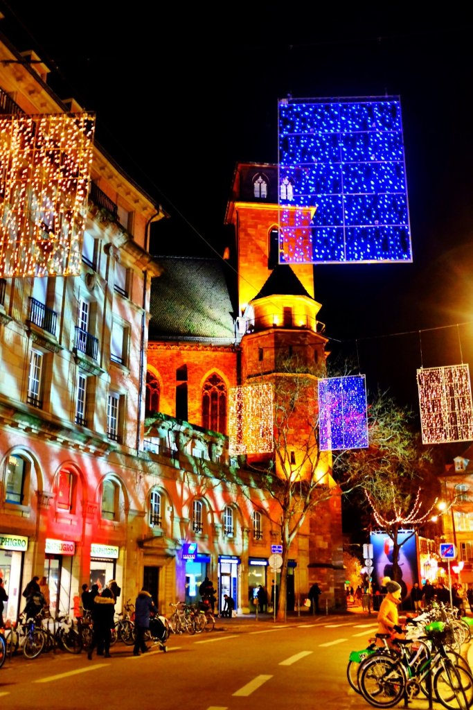 Christmas lights, Strasbourg Christmas markets