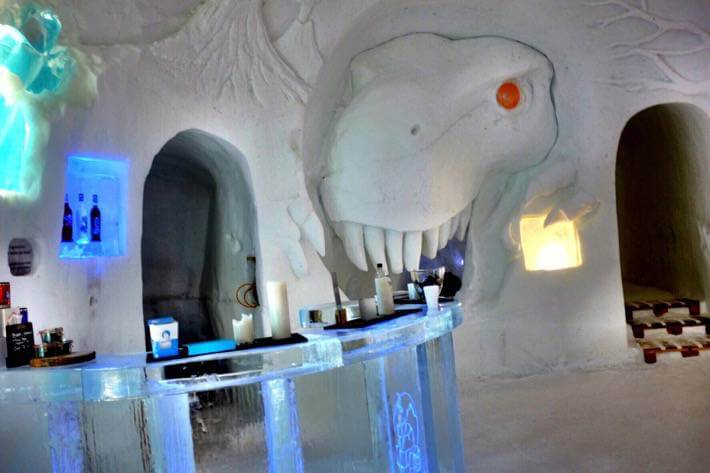 What to do in Zermatt - Ice bar in the Igloo Village in Zermatt