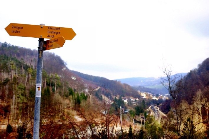 We were so happy to see this signpost, cause that meant we were on the right way