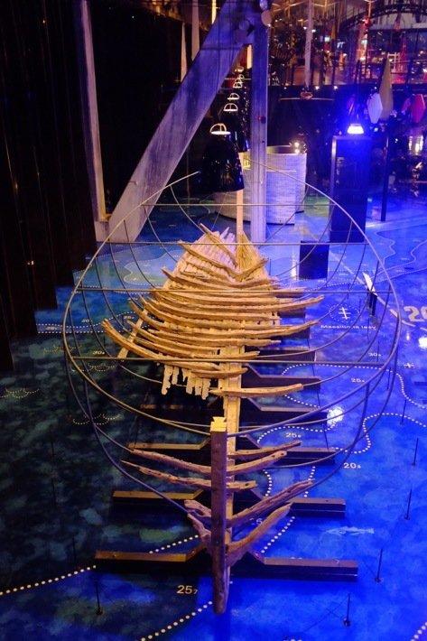Weekend in Tallinn Bottom of wooden ship at the Seaplane Museum in Tallinn