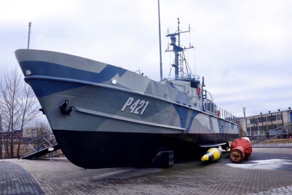Coastguard at the Seaplane Museum in Tallinn