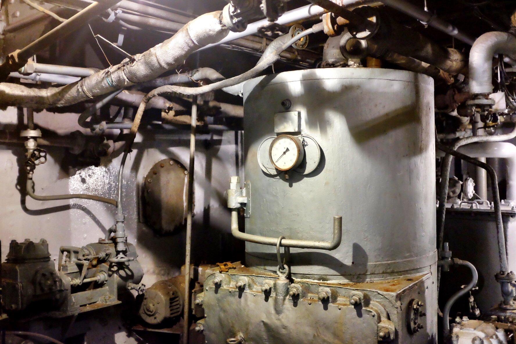 Engine of an Icebreaker