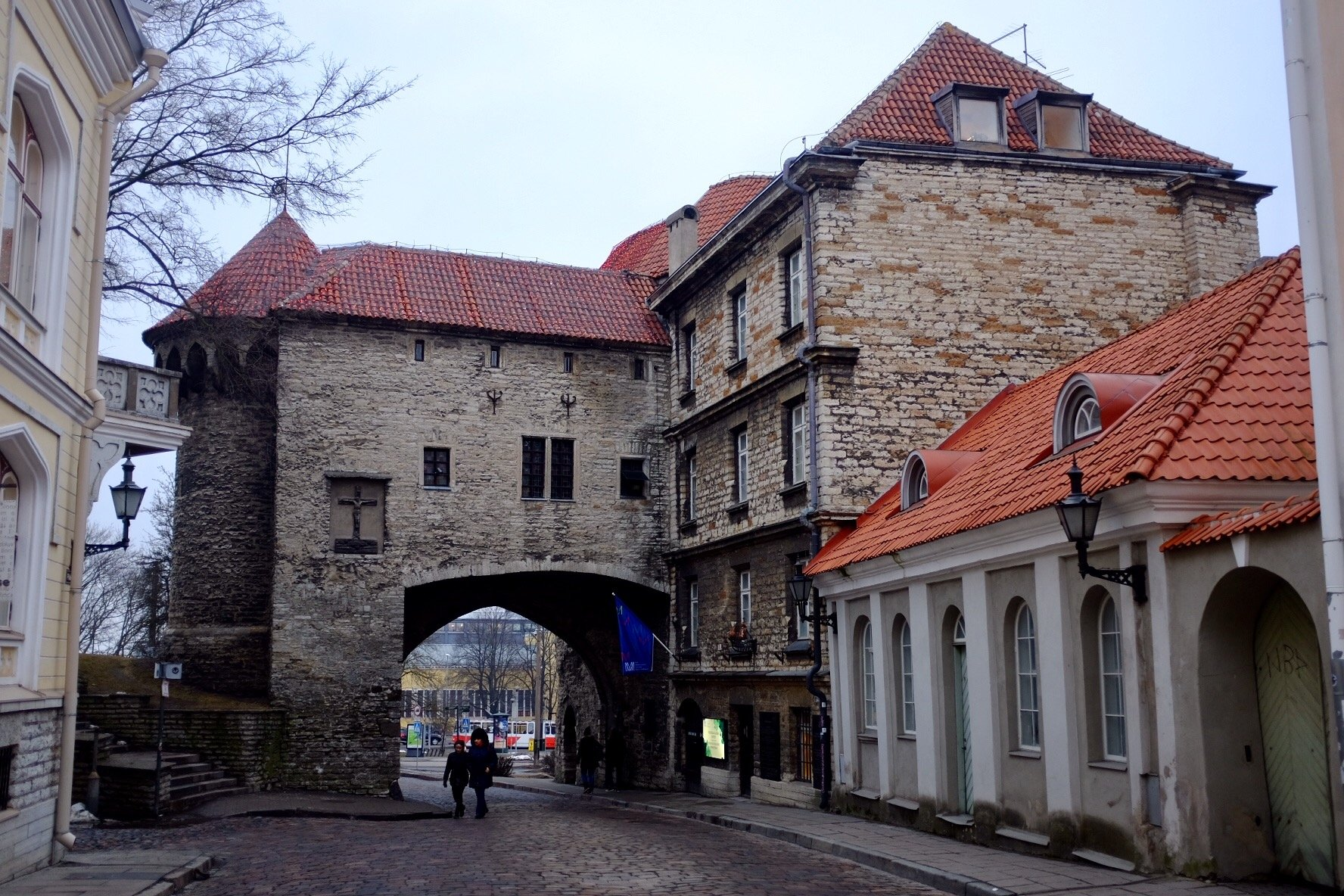 Fat Margeret as seen from within the walls of Tallinn