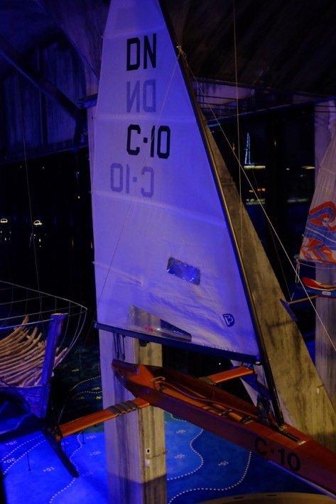 Iceskate boat at the Seaplane Museum in Tallinn