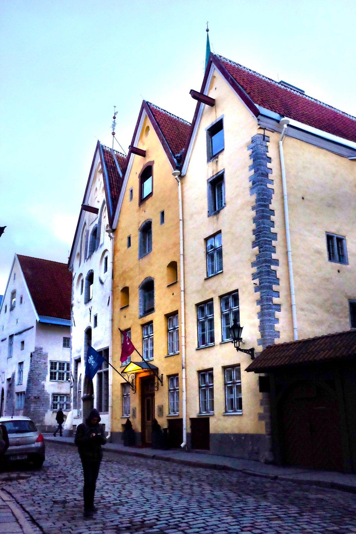 Three Sisters Hotel in Tallinn