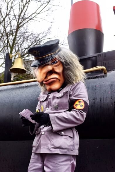 Waggis Inspector at the Basler Fasnacht