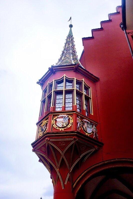 Bay window in Freiburg