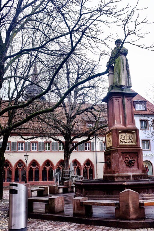 Fountain in Freiburg