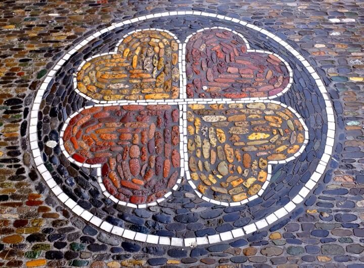 Mosaic clover Freiburg