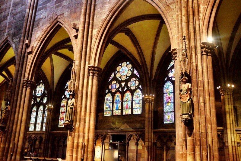 Munster interieur Freiburg