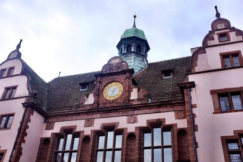 New town hall Freiburg