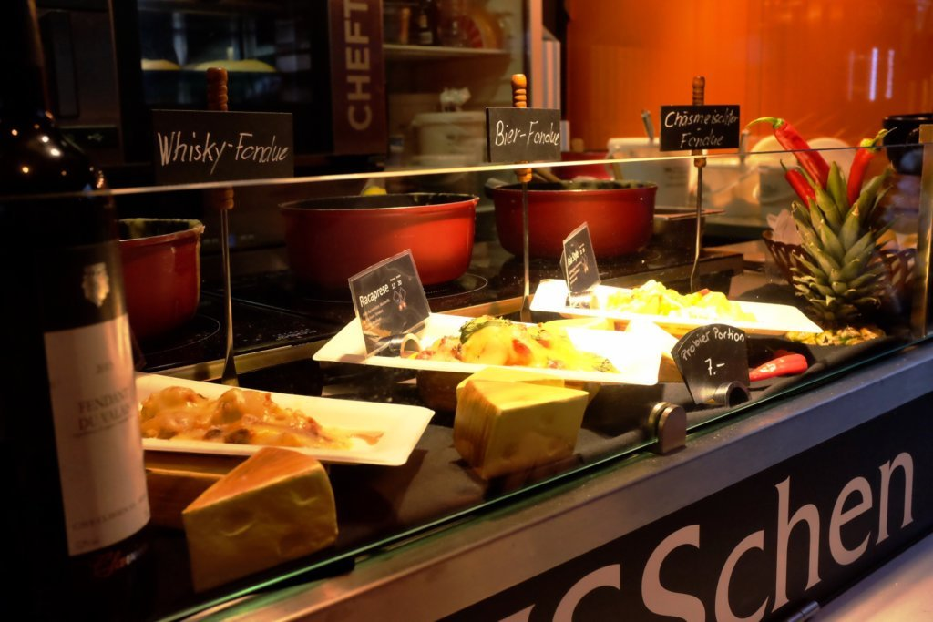 At the Street Food Festival Basel you can even get Fondue