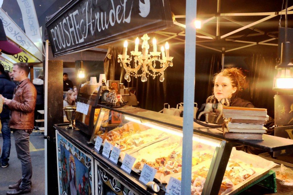 Strudel ath the Street Food Festival Basel