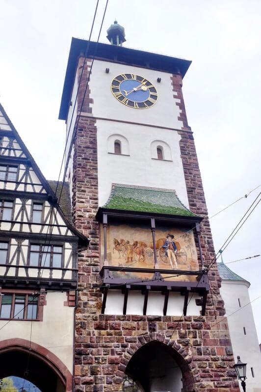 Swabian gate Freiburg