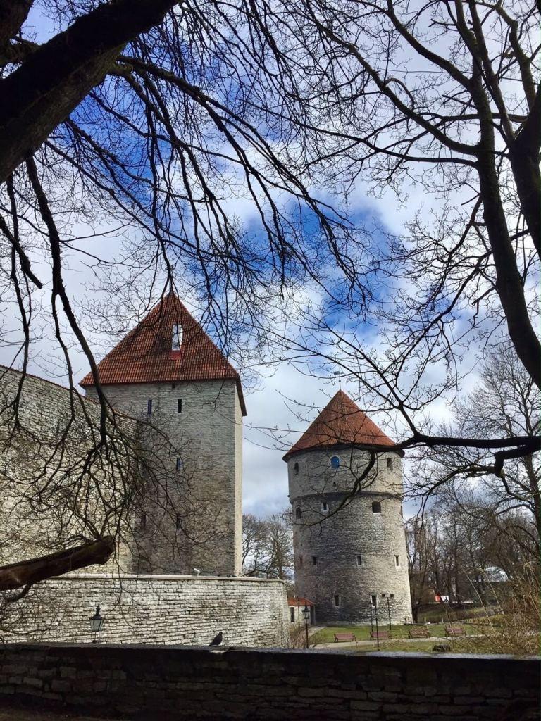 Kiek in de Kök and wall Tallinn
