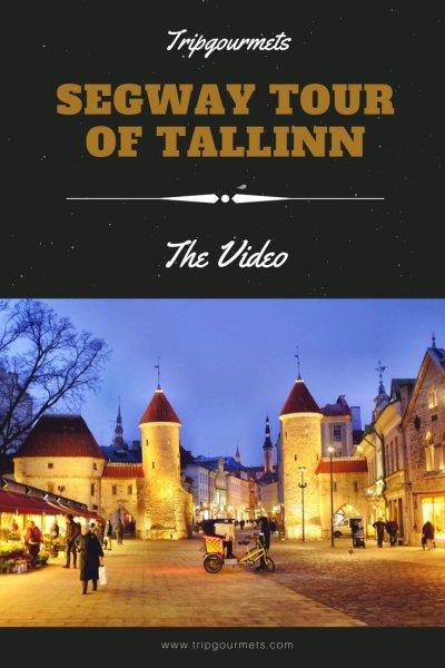 segway tour of Tallinn Pinterest Trip Gourmets