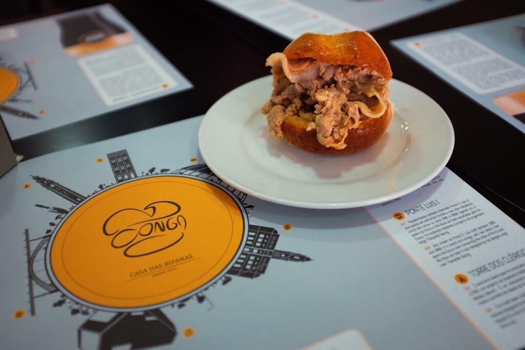 Foodie highlights of Porto bifana