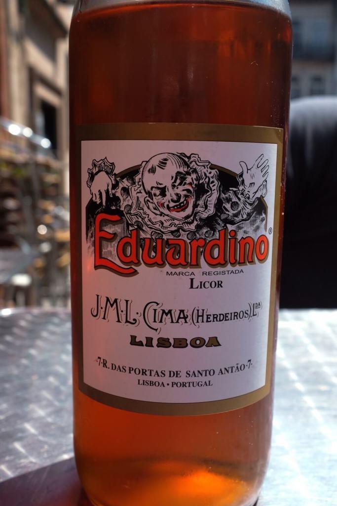 Foodie highlights of Porto liquor Eduardinho