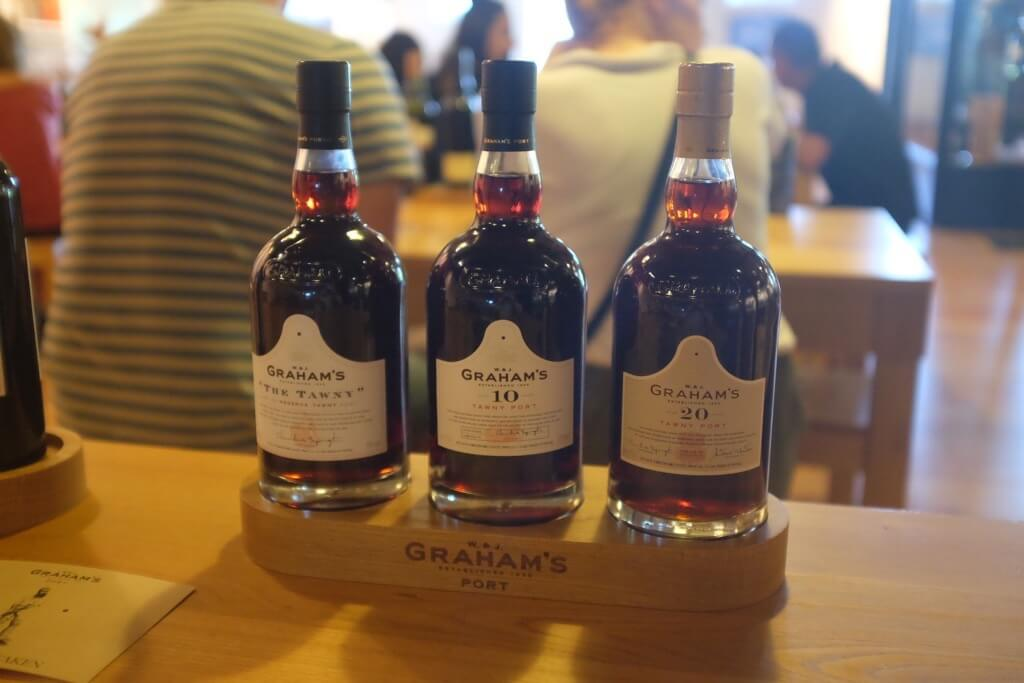 Foodie highlights of Porto Tawny tasting