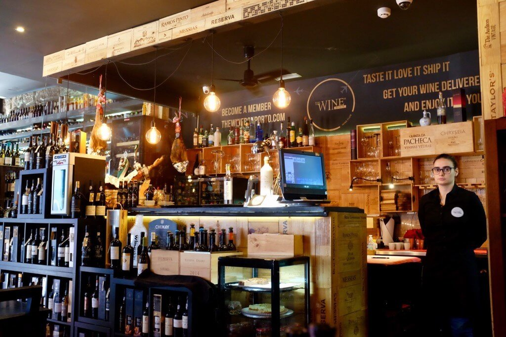 Foodie highlights of Porto the wine box