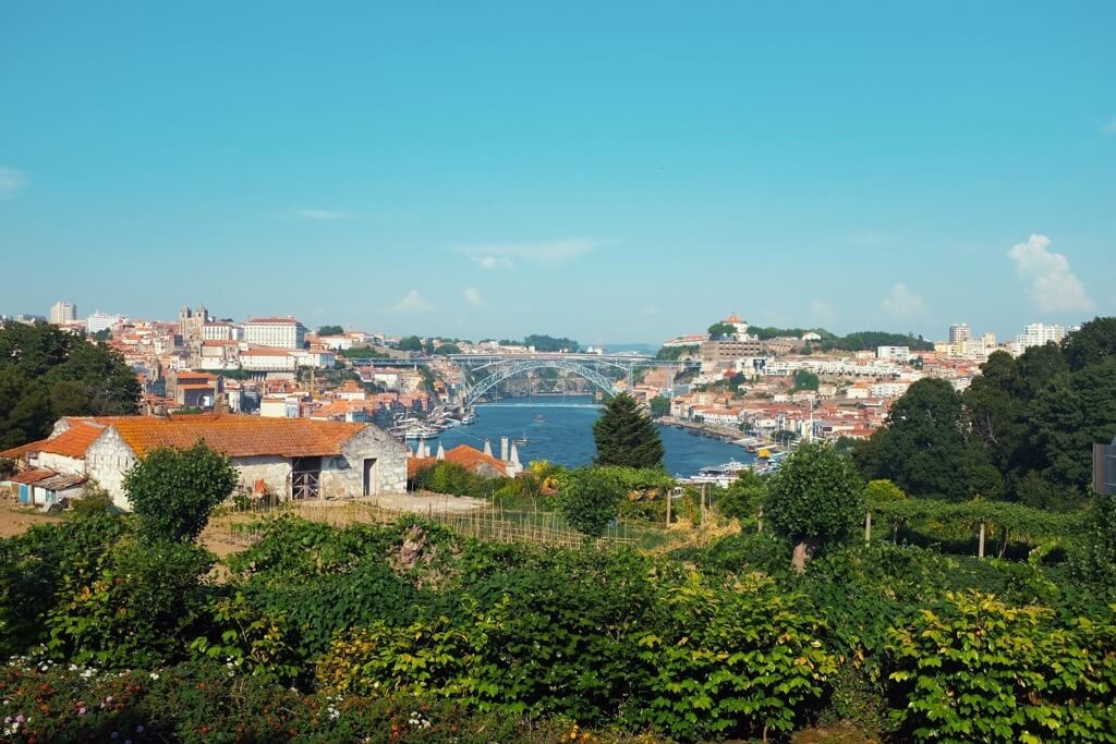 Three days in Porto . The view from Graham's winery