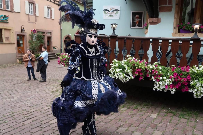 Alsace wine route Venetian parade