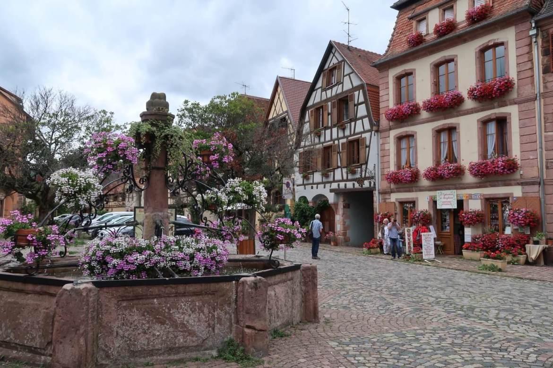 Alsace wine route Bergheim